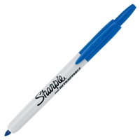 MARKER RETRACTABLE SHARPIE BLUE F 36703