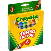 CRAYON SET JUMBO SET 8CT CX52-0389