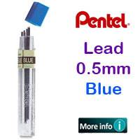 LEAD 0.5MM BLUE PENTEL PLPPB-5