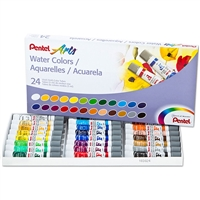 WATERCOLOR SET PENTEL 24 COLORS PLWFRS-24