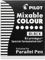 PARALLEL PEN REFILL CARTRIDGE BLACK 6-BOX PI77305