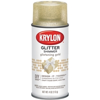 SPRAY GLITTER GLISTENING GOLD 4OZ KRK03304010