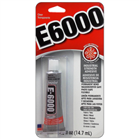 GLUE E6000 ALL PURPOSE VIS 0.5 FL OZ MVE230516