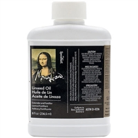 LINSEED OIL MONA LISA 8OZ 00170-008