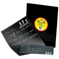 BLACK PAPER 8.5X11 25 PACK HY14816