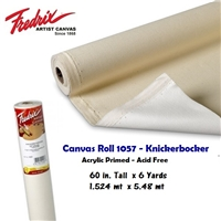 CANVAS ROLL KNICKERBOCKER 60 INCHES x 6 YARDS 1057