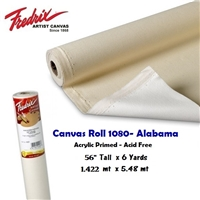 CANVAS ROLL ALABAMA 56 INCHES X 6 YARDS 1080