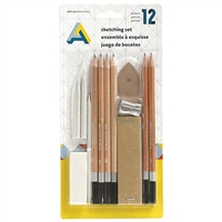 SKETCHING SET AA 12PCS AA1140