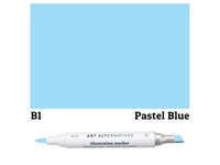 ILLUSTRATION MARKER AA PASTEL BLUE B1 AAM-B1
