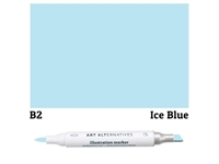 ILLUSTRATION MARKER AA ICE BLUE B2 AAM-B2