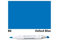 ILLUSTRATION MARKER AA OXFORD BLUE B8 AAM-B8