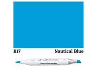 ILLUSTRATION MARKER AA NAUTICAL BL B17 AAM-B17