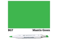 ILLUSTRATION MARKER AA MANTIS GRN BG7 AAM-BG7