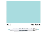 ILLUSTRATION MARKER AA SEA FOAM  BG13 AAM-BG13