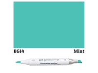 ILLUSTRATION MARKER AA MINT BG14 AAM-BG14
