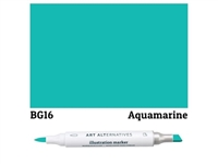 ILLUSTRATION MARKER AA AQUAMARINE BG16 AAM-BG16