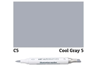 ILLUSTRATION MARKER AA COOL GRAY 5 C5 AAM-C5