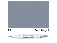 ILLUSTRATION MARKER AA COOL GRAY 7 C7 AAM-C7