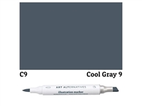 ILLUSTRATION MARKER AA COOL GRAY 9 C9 AAM-C9