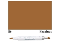 ILLUSTRATION MARKER AA HAZELNUT E6 AAM-E6