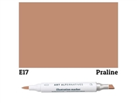 ILLUSTRATION MARKER AA PRALINE E17 AAM-E17