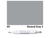 ILLUSTRATION MARKER AA NEUTRL GRAY 5 N5 AAM-N5