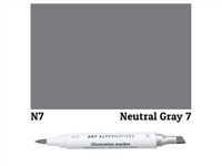 ILLUSTRATION MARKER AA NEUTRL GRAY 7 N7 AAM-N7