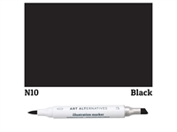 ILLUSTRATION MARKER AA BLACK N10 AAM-N10