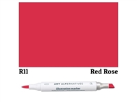 ILLUSTRATION MARKER AA RED ROSE R11 AAM-R11