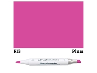 ILLUSTRATION MARKER AA PLUM R13 AAM-R13