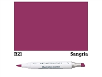 ILLUSTRATION MARKER AA SANGRIA R21 AAM-R21