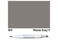 ILLUSTRATION MARKER AA WARM GRAY 9 W9 AAM-W9