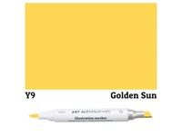 ILLUSTRATION MARKER AA GOLDEN SUN Y9 AAM-Y9