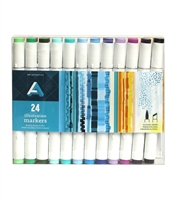 ILLUSTRATION MARKER SET AA 24PC AAM-SET24PC