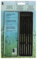 ART TIN WOODLESSS GRAPHITE PENCIL SET AA16001