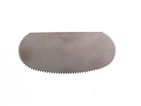 TOOL STAINLESS STEEL SERRATED SCRAPER AA17350