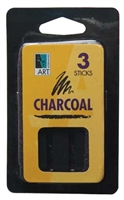 CHARCOAL DRAWING STICK 3PK AA17760