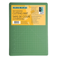 CUTTING MAT 18X24 inches GREEN-BLACK AA17934