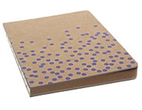 DRAWING JOURNAL LTD - SWISS DOT VIOELT - KRAFT PAPER - 192SH 6X8  AAJL00004