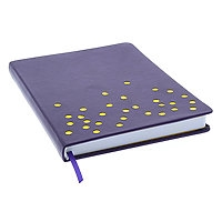 DRAWING JOURNAL LTD- SWISS DOT VIOLET 192SH 6X8 AAJL00008