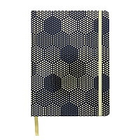 DRAWING JOURNAL DOT PAD 6X8 INCHES - GOLD HEXAGON 96SH AAJL0054