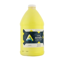 AA ACRYLIC 1/2 GALLON YELLOW AA91040