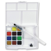 WATERCOLOR SET KOI POCKET 12 /SET PLUS WATERBRUSH SKXNCW-12H