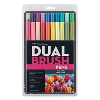 MARKER TOMBOW DUAL BRUSH SET 20/FLORAL PALETTE  TB56192