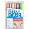 MARKER SET TOMBOW DUAL BRUSH SET 10/CELEBRATION TB56215