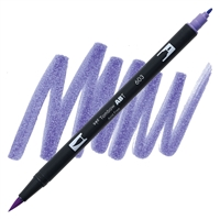 MARKER TOMBOW DUAL BRUSH 603 PERIWINKLE TB56567
