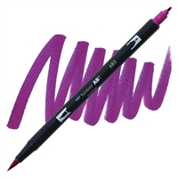 MARKER TOMBOW DUAL BRUSH 685 DEEP MAGENT TB56555