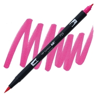 MARKER TOMBOW DUAL BRUSH 725 RHODA RED TB56581