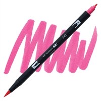 MARKER TOMBOW DUAL BRUSH 743 HOT PINK TB56583