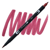 MARKER TOMBOW DUAL BRUSH 837 WINE RED TB56595